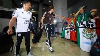 Selección Mexicana llega a Panamá