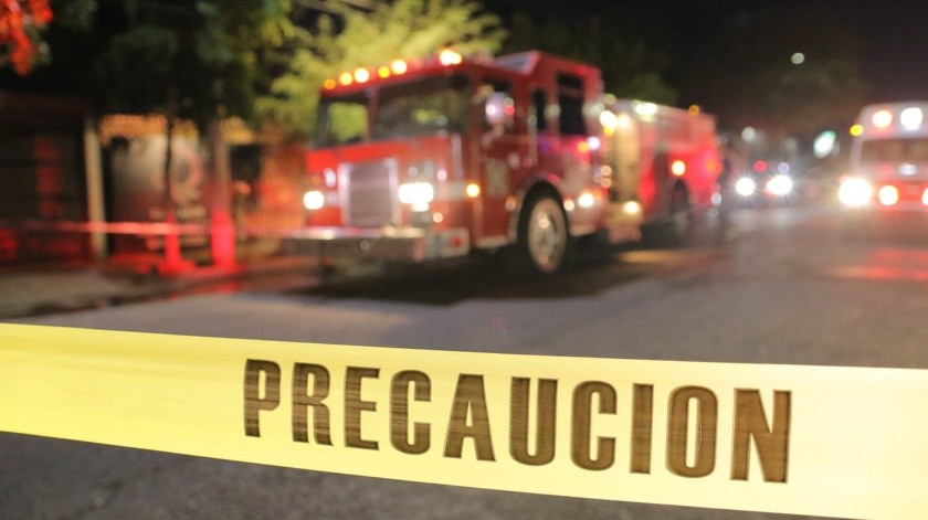 El incendio se registró la noche del martes.