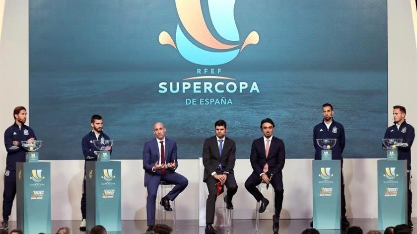 La elección del país árabe como sede ha generado protestas en algunos sectores del deporte español.(EFE)