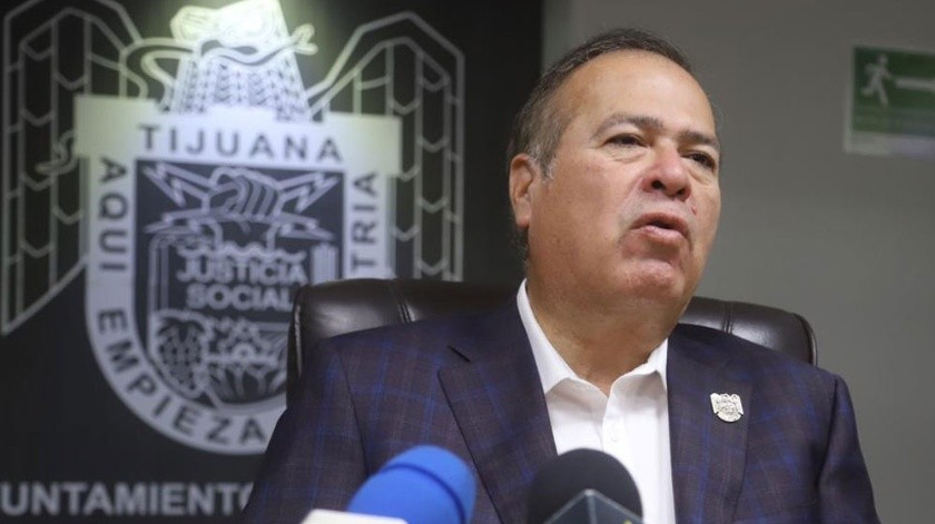 Arturo González Cruz, alcalde de Tijuana.(Jesús Bustamante)