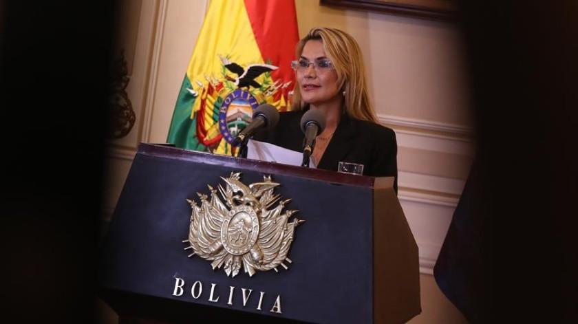 Gobierno interino de Bolivia anuncia mesa de diálogo con partido de Evo Morales(EFE)