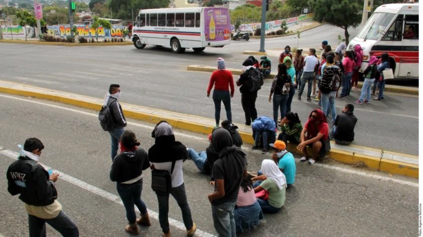 Normalistas de Chiapas son detenidos por Policía Federal(GH)