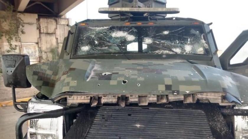 Enfrentamiento en Nuevo Laredo deja 7 muertos y 3 heridos(@gin021088)