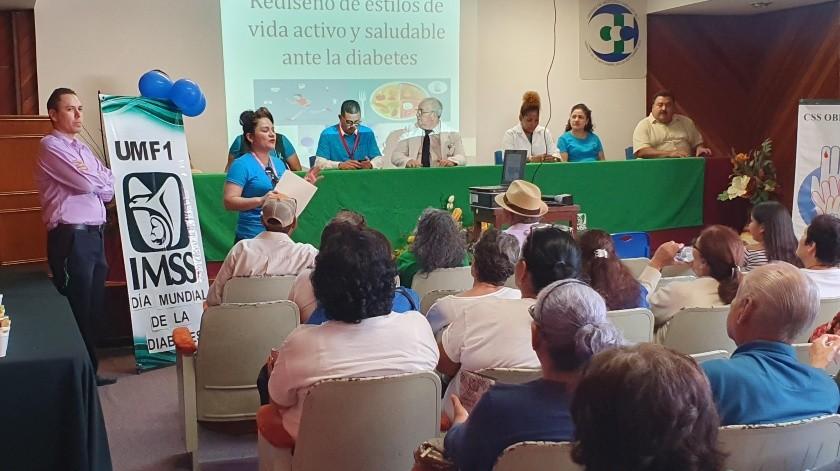 Mantiene IMSS grupos de ayuda para diabéticos(Susana A. Arana)