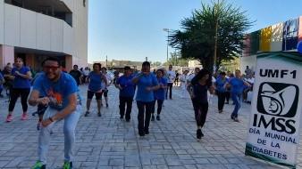 Promueven activación física en Obregón