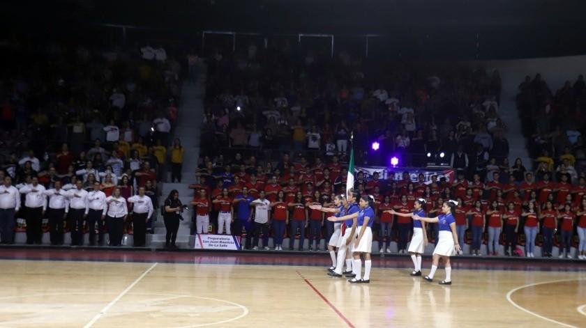 Arranca la fiesta deportiva de la Copa Lasallista Regis(Teodoro Borbón)