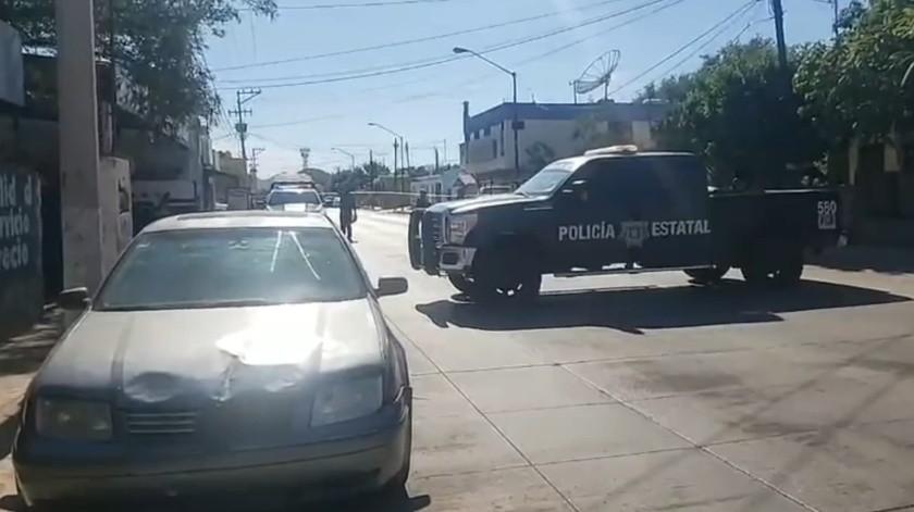 Asesinan a hombre en el Centro de Guaymas(El Imparcial)