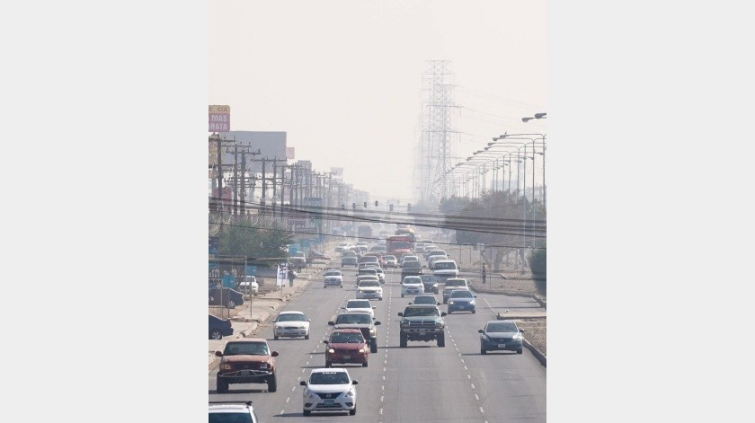 Hay alta polución desde hace 16 días(Víctor Medina)