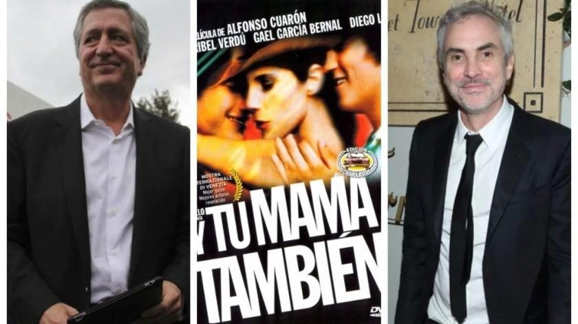 """Jorge Vergara y su aparición en """"Y tu mamá también"""""""