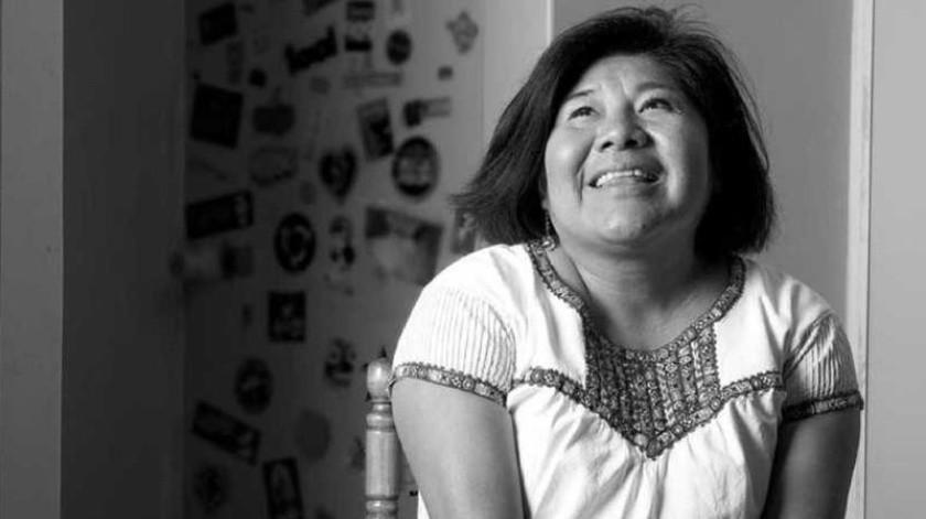 Celerina Patricia Sánchez Santiago es originaria de Mesón de Guadalupe, Municipio de San Juan Mixtepec, distrito de Santiago, Juxtlahuaca, Oaxaca.(Cortesía)