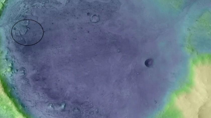 La ubicación para el próximo Rover de la NASA es aún más intrigante(NASA)