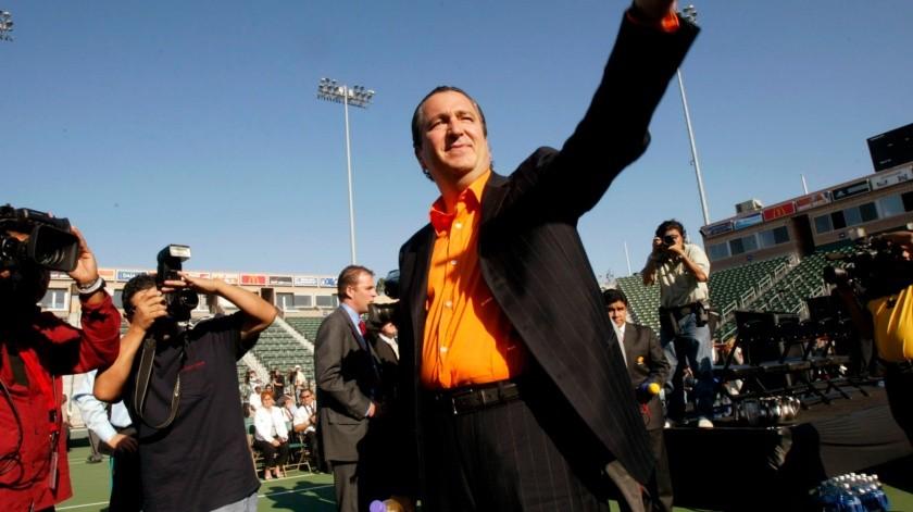 Falleció Jorge Vergara, quien fuera dueño de las Chivas del Guadalajara.(Copyright 2004 The Associated Press. All rights reserved, AP)