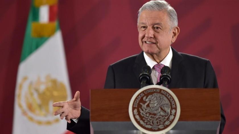 """AMLO pide al pueblo cuidar que no haya """"robadera""""(Andrés Manuel López Obrador.)"""