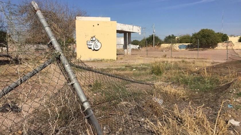 Las subdelegaciones policiacas en colonias de Navojoa lucen abandonadas.(Jesús Palomares)