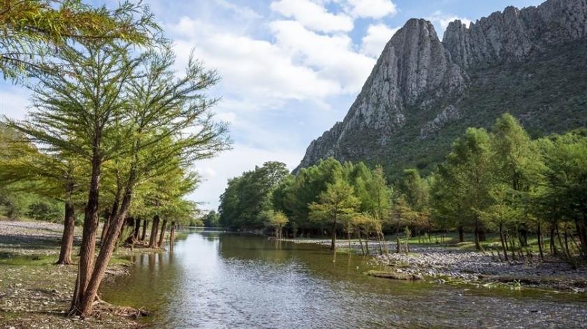El gobierno estatal de Durango declaró el Cañón de Fernández zona protegida en el año 2004.(EFE)