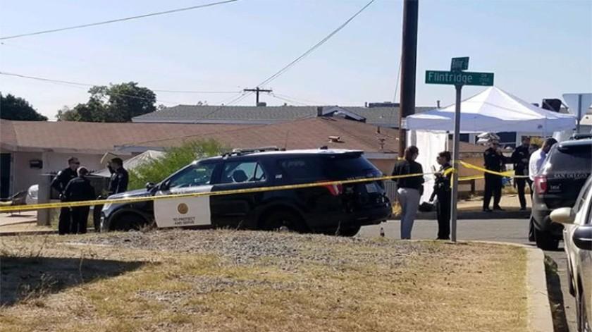 Cinco integrantes de una familia en San Diego, fallecieron luego de un caso de homicidio-suicidio, confirmaron las autoridades del Departamento de Policía de San Diego.(Cortesía Fox 5 San Diego)