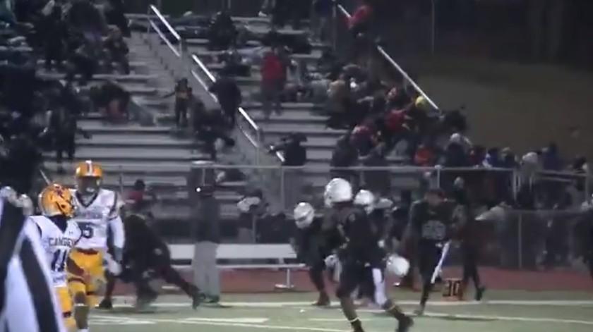 Arrestan a tirador de partido de futbol en Nueva Jersey; caen otros cuatro(Captura de video)