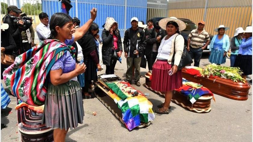 """La Defensoría del Pueblo de Bolivia advirtió de que recibe denuncias """"sobre posible implantación de evidencias con el fin de incriminar a personas en actos delictivos"""" por parte de la Policía.(EFE)"""
