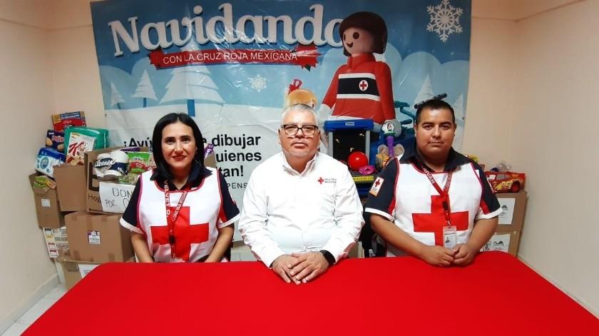 La Cruz Roja de Guaymas inició una colecta de ropa, juguetes y víveres.(Banco Digital)