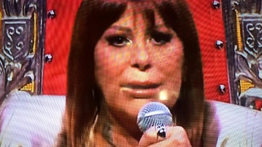 Alejandra Guzmán se encuentra en el ojo del huracán por cuestiones relacionadas con su físico(Tomada de la red)