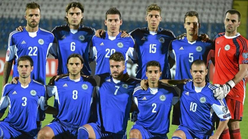 Selección de San Marino llora al marcar su primer gol como local en seis años(Twitter)