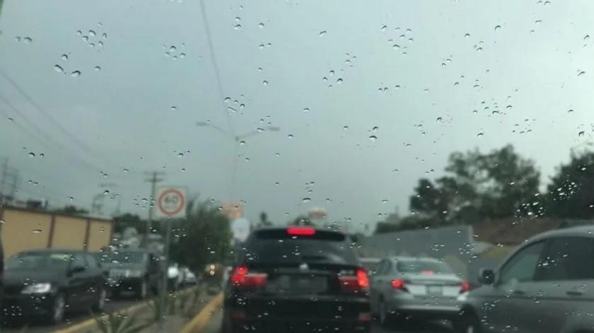 Esta semana se presentarán tres días de lluvia, de acuerdo al reporte del clima The Weather Channel.