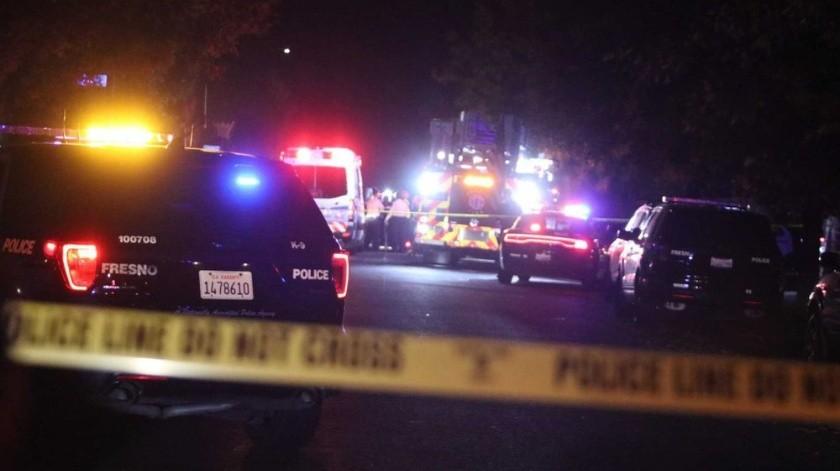Tiroteo en Fresno, California, deja 4 muertos y 6 heridos(AP)