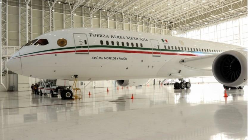Avión presidencial(Agencias)