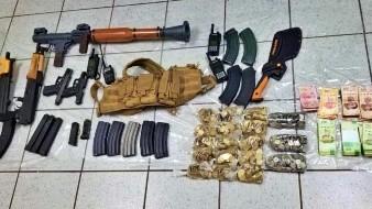 Sedena asegura más armamento en Nogales
