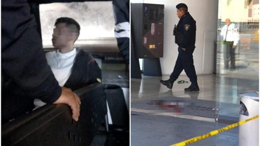 El guardia de seguridad que fue herido de bala durante la mañana de este lunes por dos presuntos asaltantes, cuando desabastecía un cajero de cobro del estacionamiento de Plaza Universidad en la Ciudad de México, murió en el hospital.