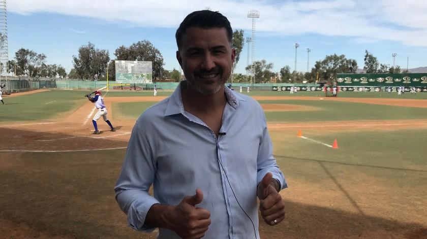 Edgar González, comisionado nacional de béisbol de Probeis, comentó que los 30 equipos de Grandes Ligas se presentaron en el escauteo que es parte de la Serie Internacional de Prospectos, que se estará llevando a cabo del 18 al 23 de noviembre en Tijuana.(Tomada de la red)