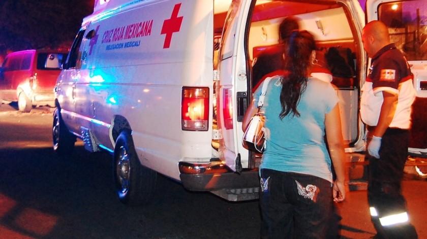 Resulta herido un motociclista tras choque(Archivo)