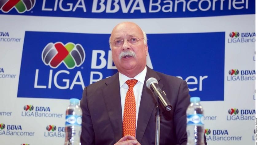 El presidente de la Liga MX, Enrique Bonilla.(Banco Digital)