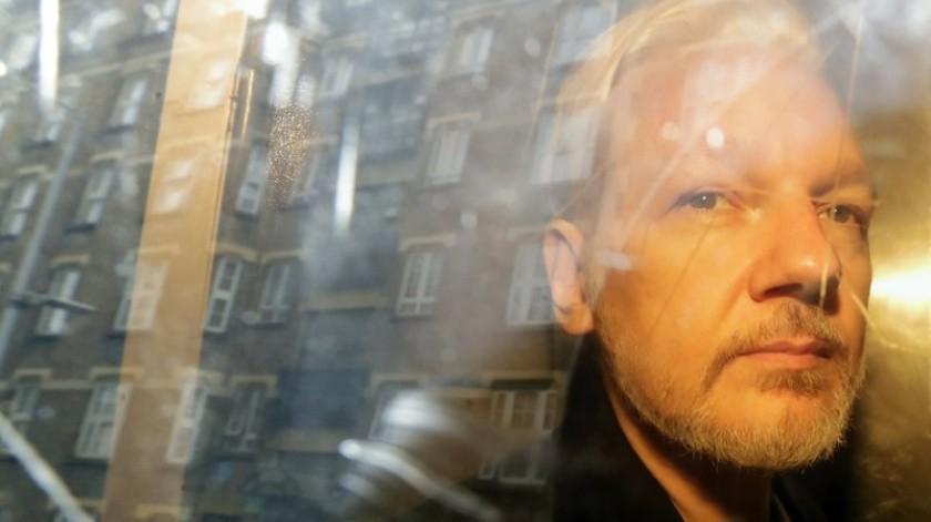 Assange debe comparecer en audiencia el año próximo sobre su extradición a Estados Unidos.(AP)