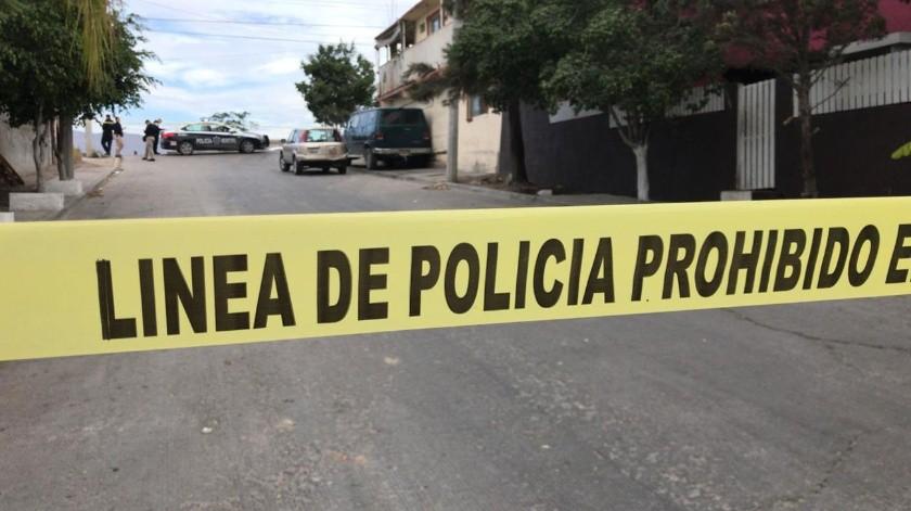 Los restos fueron encontrados al interior de un automóvil tipo vagoneta.(Gustavo Suárez)