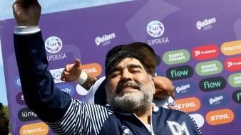 El paso de Maradona en Gimnasia y Esgrima La Plata