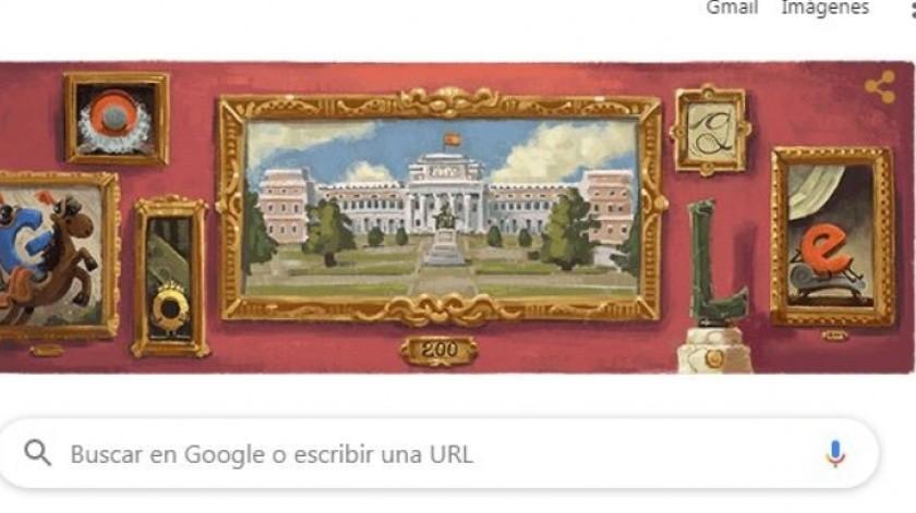 Conmemoran el aniversario 200 del Museo del Prado(Tomada de la Red)