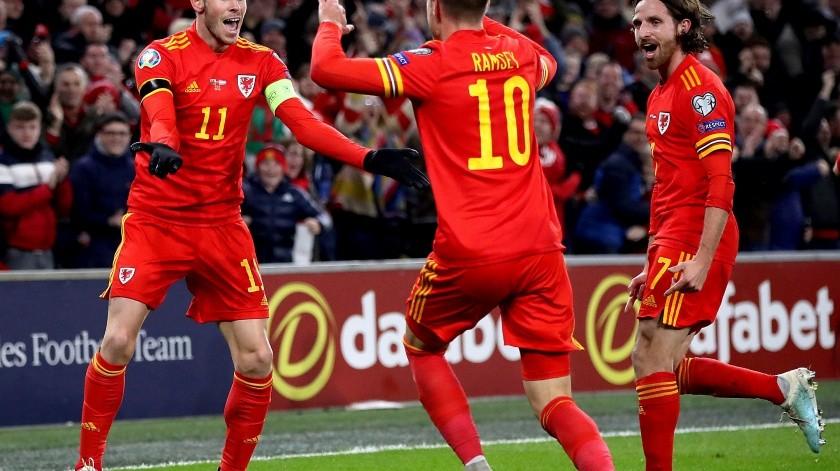 Gales completa los clasificados a la Euro 2020; Ramsey pone a famosos a temblar(AP)