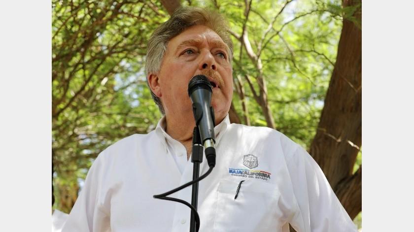 Francisco 'Kiko' Vega, ex gobernador de Baja California denunciado.(El Imparcial)