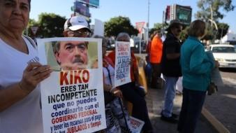 Durante los últimos meses se registraron decenas de manifestaciones de maestros exigiendo sus pagos.
