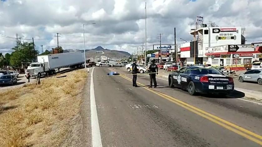Un hombre murió al ser arrollado por un taxista.