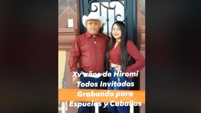 """¡Como Rubí! Quinceañera de Tamaulipas invita a su fiesta donde habrá una """"chiva"""" de regalo"""