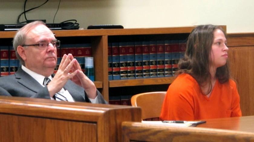 Brittany Pilkington fue sentenciada a 37 años de prisión sin derecho a libertad condicional.(AP)