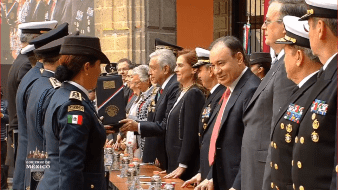 El mando reiteró al titular del Ejecutivo que las Fuerzas Armadas seguirán sirviendo con lealtad a México, a sus instituciones y a su comandante supremo.
