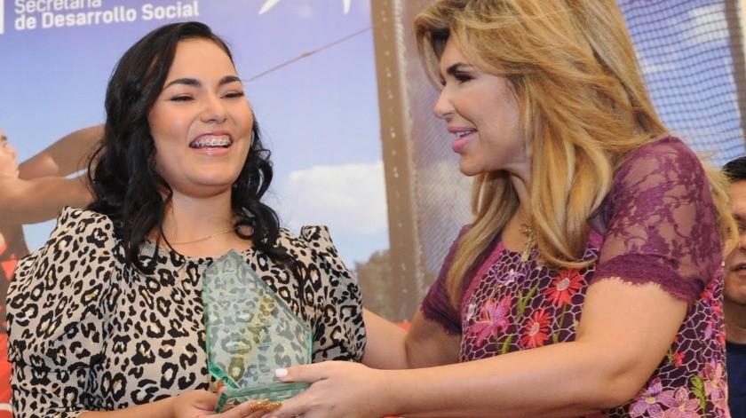 Rebeca Valenzuela Álvarez fue la galardonada con el Premio Estatal del Deporte 2019.