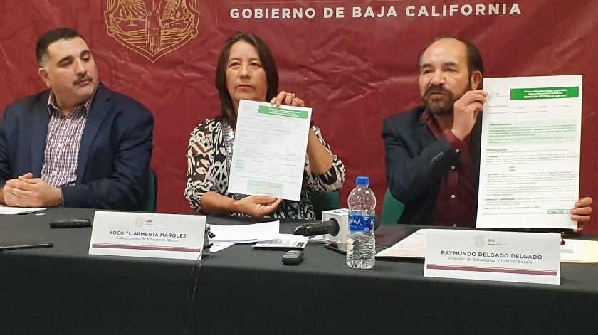 Inicia hoy inscripción para Educación Básica a través de Internet(Andrea Jiménez)