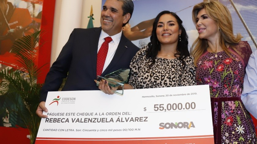 Premio a su gran esfuerzo(Julián Ortega)
