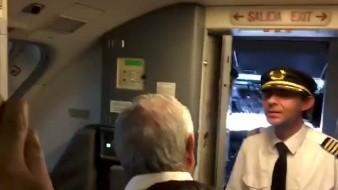 Ayer miércoles, Aeroméxico informó, en un comunicado, que solicitó un informe detallado al capitán del vuelo AM533.