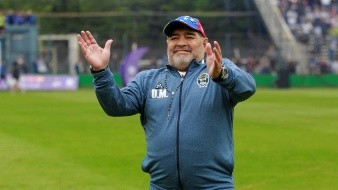 Presidente de Gimnasia, 'esperanzado' en que Maradona regrese