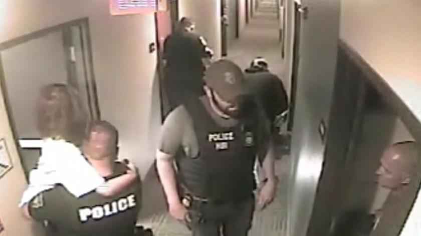 VIDEO: Hombre de 51 raptó a niña; policía revela impactante rescate en EU(Captura de video)